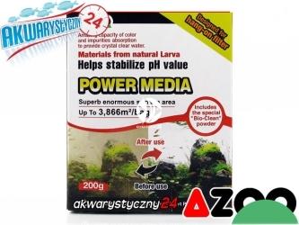 AZOO POWER MEDIA (AZ16124) - Innowacyjny wkład do filtra w akwarium o szerokim spektrum działania.