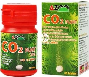AZOO CO2 Plant 30szt. (AZ17187) - CO2 i pierwiastki śladowe dla roślin akwariowych.