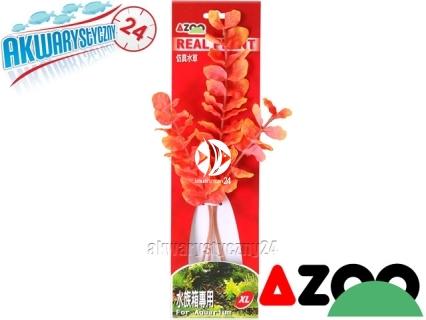 AZOO Rotala Macrandra Red Xl (30cm) (AZ98018) - Roślina sztuczna z tkanymi liśćmi
