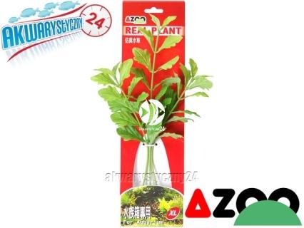 AZOO SHINNERSIA RIVULARIS XL (31cm) (AZ98021) - Roślina sztuczna z tkanymi liśćmi