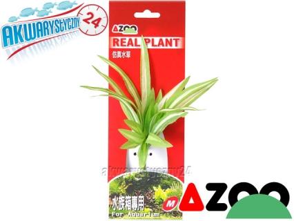 AZOO SINGLE CHLOROPHYTUM M (16cm) (AZ98026) - Roślina sztuczna z tkanymi liśćmi