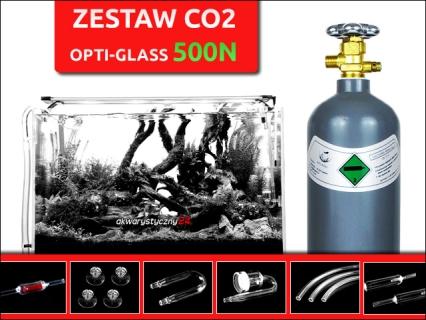 500N - Zestaw Co2 z butlą i elektrozaworem BMV