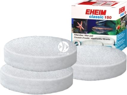 EHEIM Gąbki Białe (2616115) - Komplet 3 gąbek białych do filtra Eheim Classic 150 (2211).