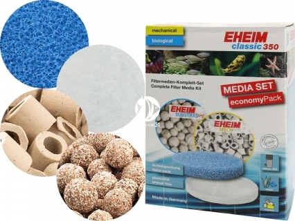 EHEIM Classic 350 (2215) Media Set (2522150) - Komplet wypełnień do filtra Eheim Classic