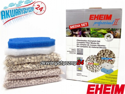 EHEIM PROFESSIONEL II 2026/2126 Media Set (2522260) - Komplet wypełnień do filtra Eheim Professionel 2226/2326 i Professionel II 2026 i 2126