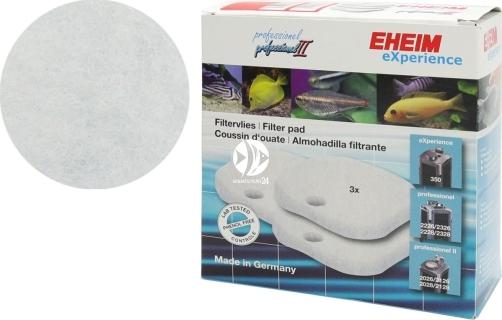 EHEIM Gąbki Białe (2616265) - Gąbka biała (3szt) do filtra EHEIM Professionel 2226/2228, termofiltrów 2326/2328 i Professionel II 2026/2028/2126