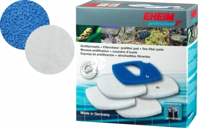 EHEIM Komplet Gąbek (2616760) - Komplet gąbek do filtra EHEIM Professionel 3e 2076/2078 (biała + niebieska)