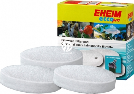 EHEIM Gąbki Białe (2616315) - Gąbka biała do filtra EHEIM Ecco 2231/2233/2235, Ecco Comfort 2232/2234/2236 i Ecco Pro 2032/2034/2036