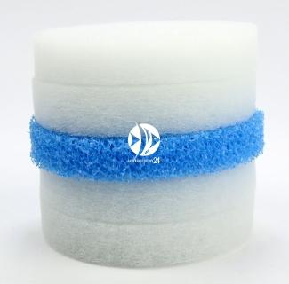 EHEIM Komplet Gąbek (2616320) - Gąbka biała i niebieska do filtrów EHEIM Ecco 2231/2233/2235, Ecco Comfort 2232/2234/2236 i Ecco Pro 2032/2034/2036