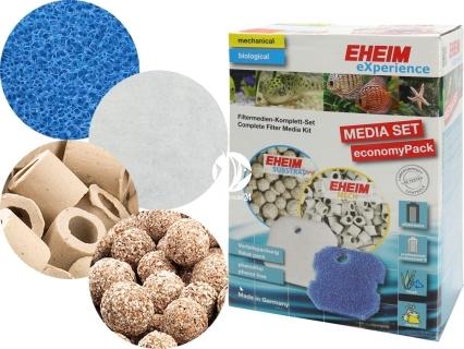 EHEIM Media Set (2520260) - Komplet wypełnień do filtra EHEIM Experience 350 (2426), Professionel 2226/2326 i Professionel II 2026 i 2126