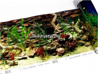 PENN PLAX Foto tapeta do akwarium (wysokość 30cm) nr.10 - Tło dwustronne