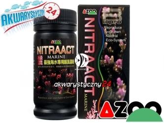 AZOO NITRAACT MARINE 100g (AZ40022) - Wyspecjalizowane, wydajne bakterie w proszku o szerokim spektrum działania.