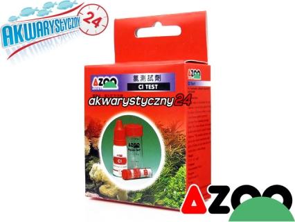AZOO Cl TEST - Test na chlor do akwarium słodkowodnego i morskiego