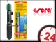 SERA GRZAŁKA 75W (08715) - Wysokiej jakości kwarcowa grzałka do akwarium z termostatem