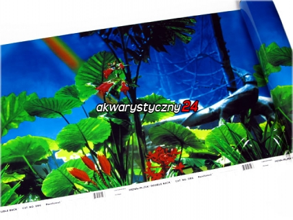 PENN PLAX Foto tapeta do akwarium (wysokość 48cm) nr.6 - Tło dwustronne