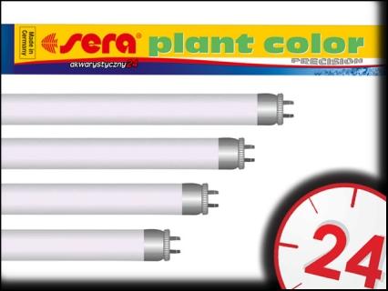 SERA PLANT COLOR T8 25W, 75cm - Świetlówka do akwarium