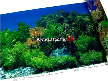 PENN PLAX Foto tapeta do akwarium (wysokość 48cm) nr.5 - Tło dwustronne