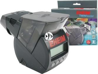 EHEIM Twin - Karmnik podwójny (3582000) - Karmnik dwukomorowy do akwarium