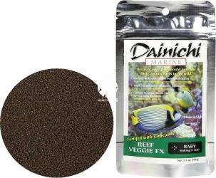DAINICHI (Termin: 01.2022) Reef Veggie FX Baby 100g (15101) - Tonący pokarm Super Premium dla morskich ryb roślinożernych