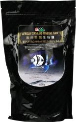 AZOO African Cichlids Mineral Salt 600g (AZ28009) - Specjalna sól do mineralizacji wody dla pielęgnic afrykańskich Tanganika, Malawi.