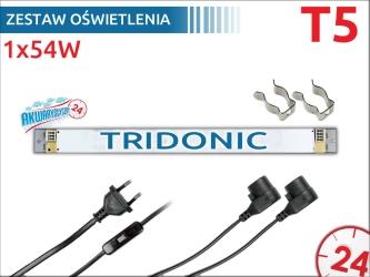 Zestaw oświetlenia 1x54W na świetlówki (105cm/115cm/120cm)