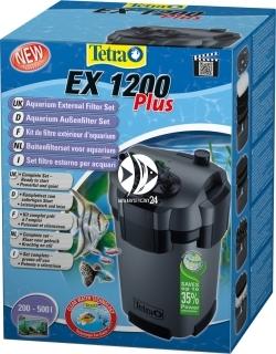 TETRA EX 1200 plus (T241015) - Filtr zewnętrzny do akwarium 200-500l