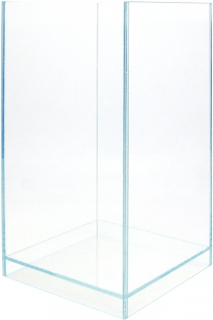VIV (Uszkodzony) Levitate Natural PURE 200x200x350mm (151-06) - Małe, ultra transparentne akwarium lewitujące