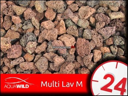 AQUAWILD MULTI LAV M 1L - Porowaty wkład biologiczny do filtrów akwariowych