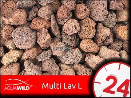 AQUAWILD MULTI LAV L 1L - Porowaty wkład biologiczny do filtrów akwariowych
