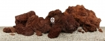AQUAWILD Lawa Czerwona 1kg (LSRB1) - Skała dekoracyjna premium do akwarium