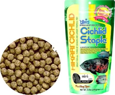 HIKARI Cichlid Staple (03111) - Pływający pokarm dla pielęgnic i innych ryb tropikalnych