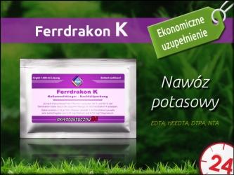 DRAK-aquaristik FerrDrakon K Proszek (uzupełnienie)