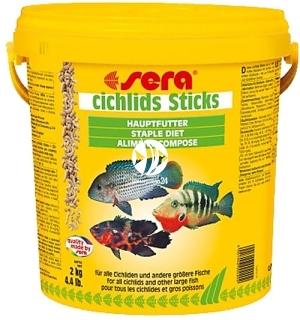 SERA Cichlid Sticks (00210) - Pokarm podstawowy dla pielęgnic