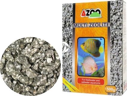 AZOO Multi- Zeolite 500g (AZ80006) - Wkład absorbuje i usuwa substancje toksyczne, oczyszcza wodę.