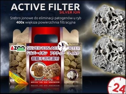 AZOO ACTIVE FILTER Silver Ion (AZ16069) - Srebro jonowe do eliminacji ryzyka wystąpienia patogenów u ryb