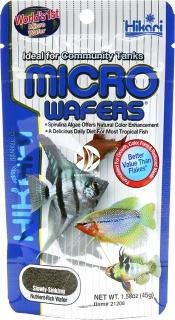 HIKARI Micro Wafers (21202) - Tonący pokarm dla małych i średnich ryb tropikalnych