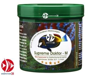 Naturefood Supreme Doktor M 120g | Miękki pokarm dla pokolców, roślinożernych ryb morskich i słodkowodnych