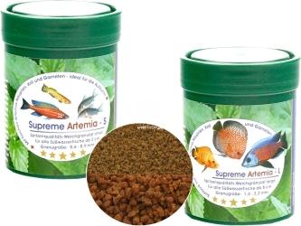 NATUREFOOD Supreme Artemia - Tonący pokarm dla mięsożernych ryb słodkowodnych
