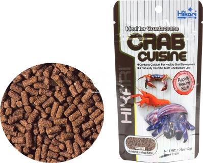 HIKARI Crab Cuisine 50g (27309) - Tonący pokarm dla krabów i innych skorupiaków