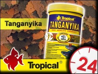 TROPICAL TANGANYIKA 185g/1L - Wieloskładnikowy, podstawowy pokarm płatkowany dla pielęgnic z jeziora Tanganika