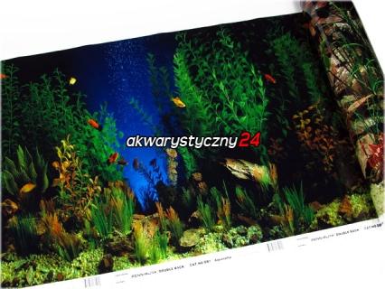 PENN PLAX Foto tapeta do akwarium (wysokość 48cm) nr.1 - Tło dwustronne