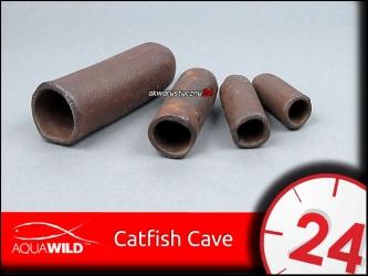 AQUAWILD CATFISH CAVE (Exotic) (CGE001) - Grota ceramiczna dla sumów i zbrojników