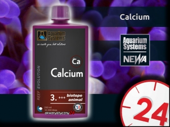 AQUARIUM SYSTEMS Calcium 250ml (210003) - Suplement wapnia w płynie