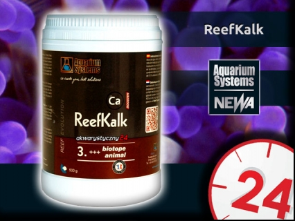 AQUARIUM SYSTEMS ReefKalk 500g (210132) - Suplement wapnia w proszku