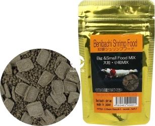 BENIBACHI Gold Shrimp Food 50g (b4BENIGSF50) - Pokarm dla krewetek odmian cardina wzmacniający wzrost i kolor