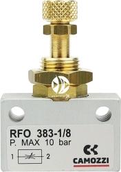 CAMOZZI Zaworek Precyzyjny (bez złączek) (128-RFO-383-18) - Stosowany do regulacji gazu w zestawach CO2