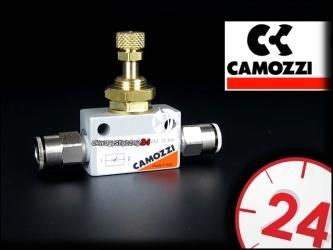 CAMOZZI Zaworek precyzyjny (+ 2 metalowe złączki 6mm)