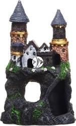 PENN PLAX Zamek Kolorowy Mały 15cm (RRW11) - Ozdoba akwariowa