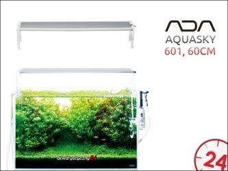ADA AQUASKY LED 601 [60cm] - Energooszczędna i prestiżowa belka oświetleniowa do akwarium roślinnego.