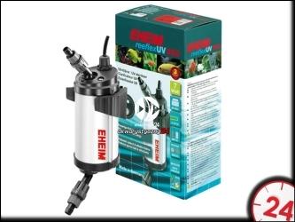EHEIM reeflexUV 350 (3721210) | Efektywny sterylizator UV z wydajnym refleksem promieni ultrafioletowych do akwarium